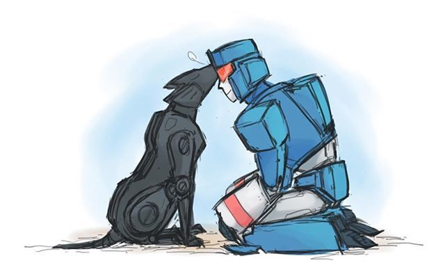 Im having relapsing to my dog  #Transformers #TransformersG1