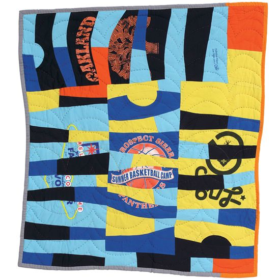 How To Make A T Shirt Quilt Diy Shirt Quilts Mother Earth News