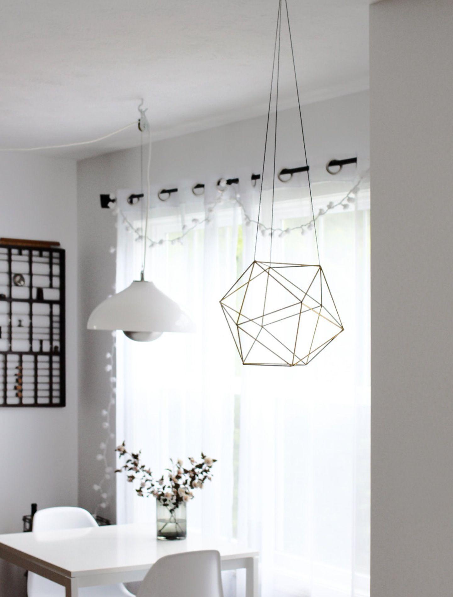Modern hanging mobile love!