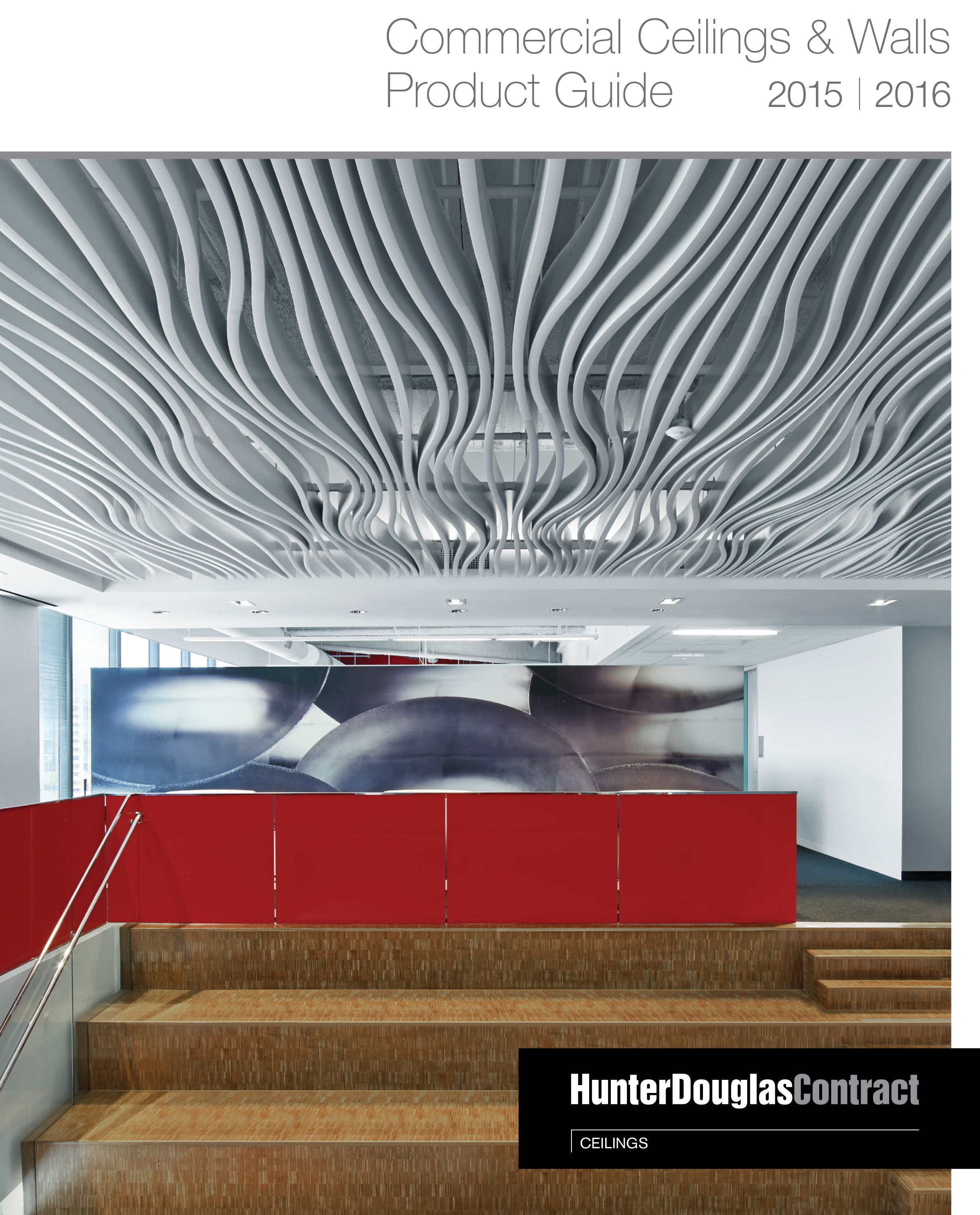 Hunter Douglas Contract Natura Wood Ceiling Natura Grilles