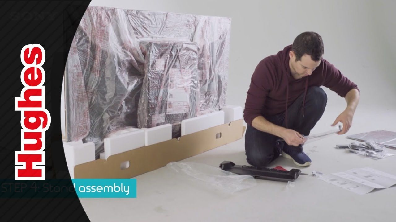 Unboxing of the Sony Bravia A1 | Videos | Sony, Flat screen