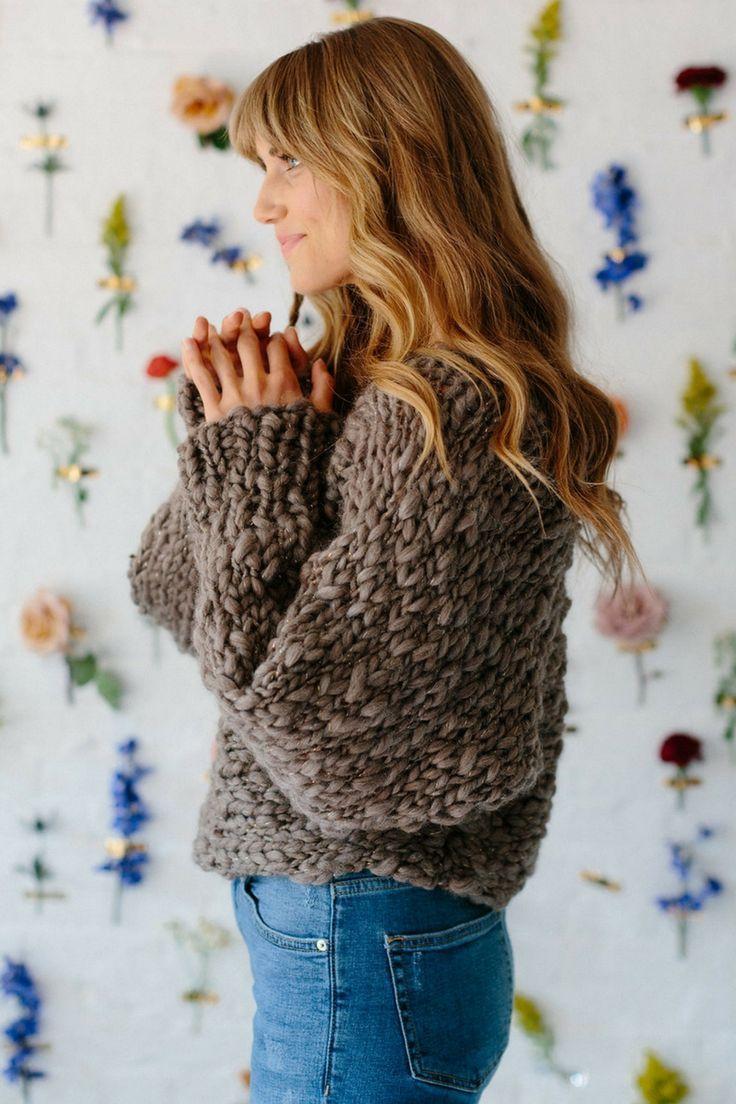 Be Mine Sweater Pattern   Beginner knitting patterns, Easy knitting ...