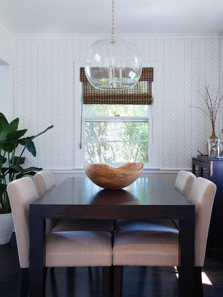 Dining Room Pendant Wallpaper Serena And Lily