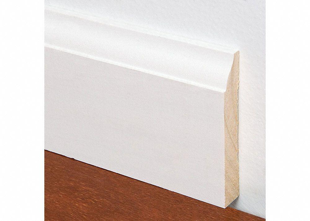 9 16 X 3 1 4 X 8 Pfj Primed Colonial Baseboard Lumber