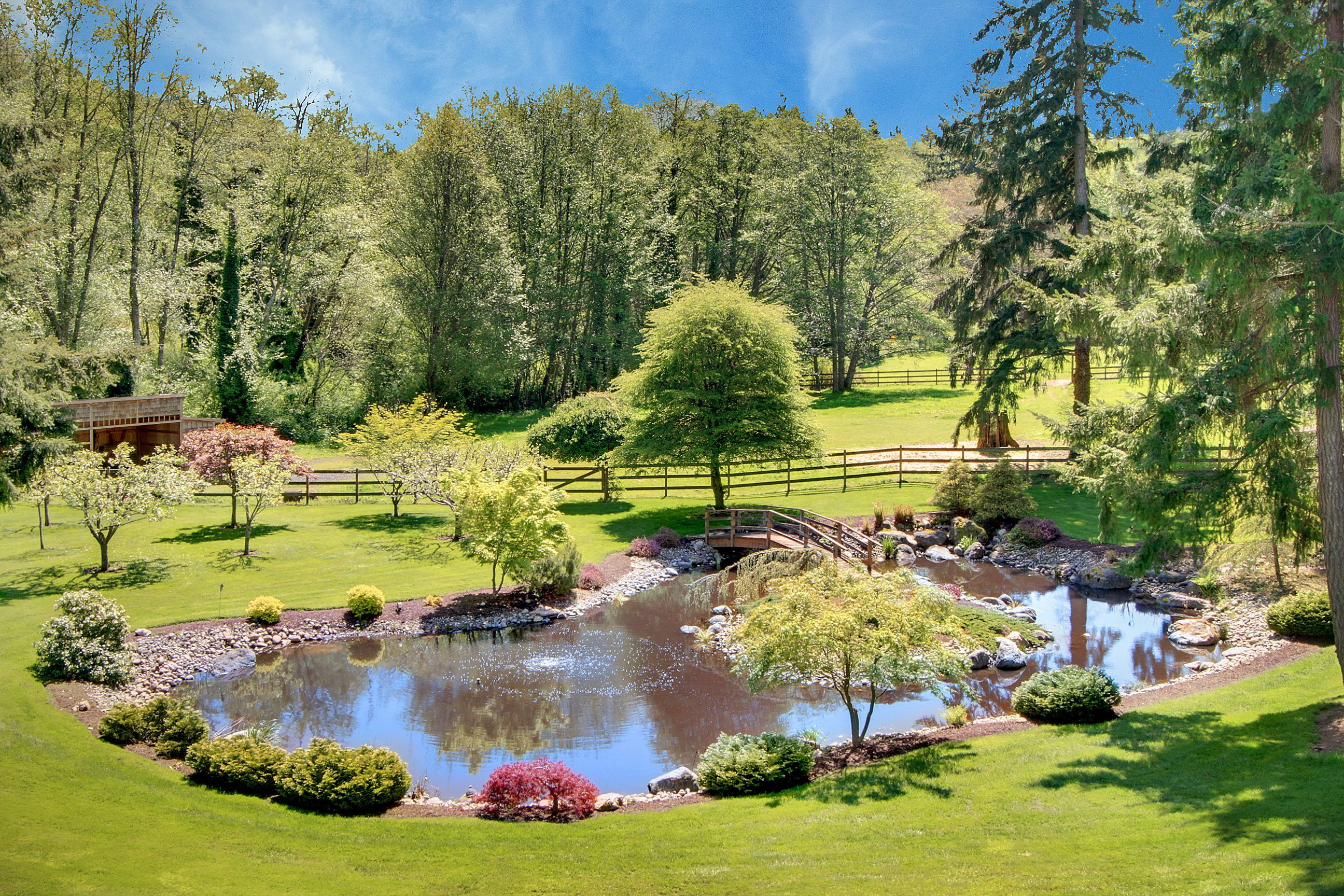 Pastures And Ponds Perfect Pond Landscaping Farm Pond Natural Pond