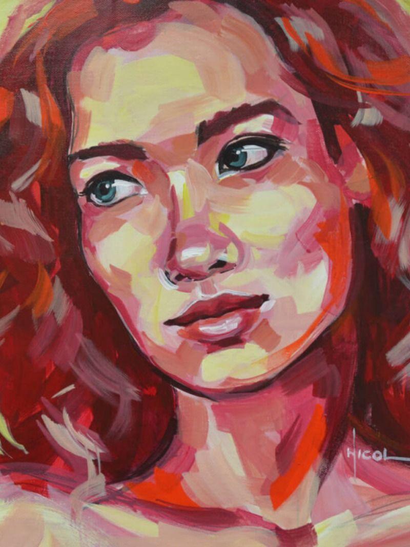 Peintures Petit Format Joreid Par Nicoleta Vacaru Carre D Artistes En 2020 Artiste Artiste Contemporain Peinture Contemporaine