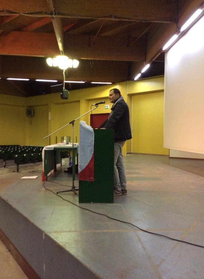 Il segretario Marco Lomio