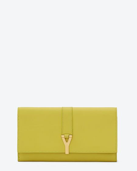 592c1b36db Pin by verniz on Fashion | Yellow leather, Wallet, Ysl