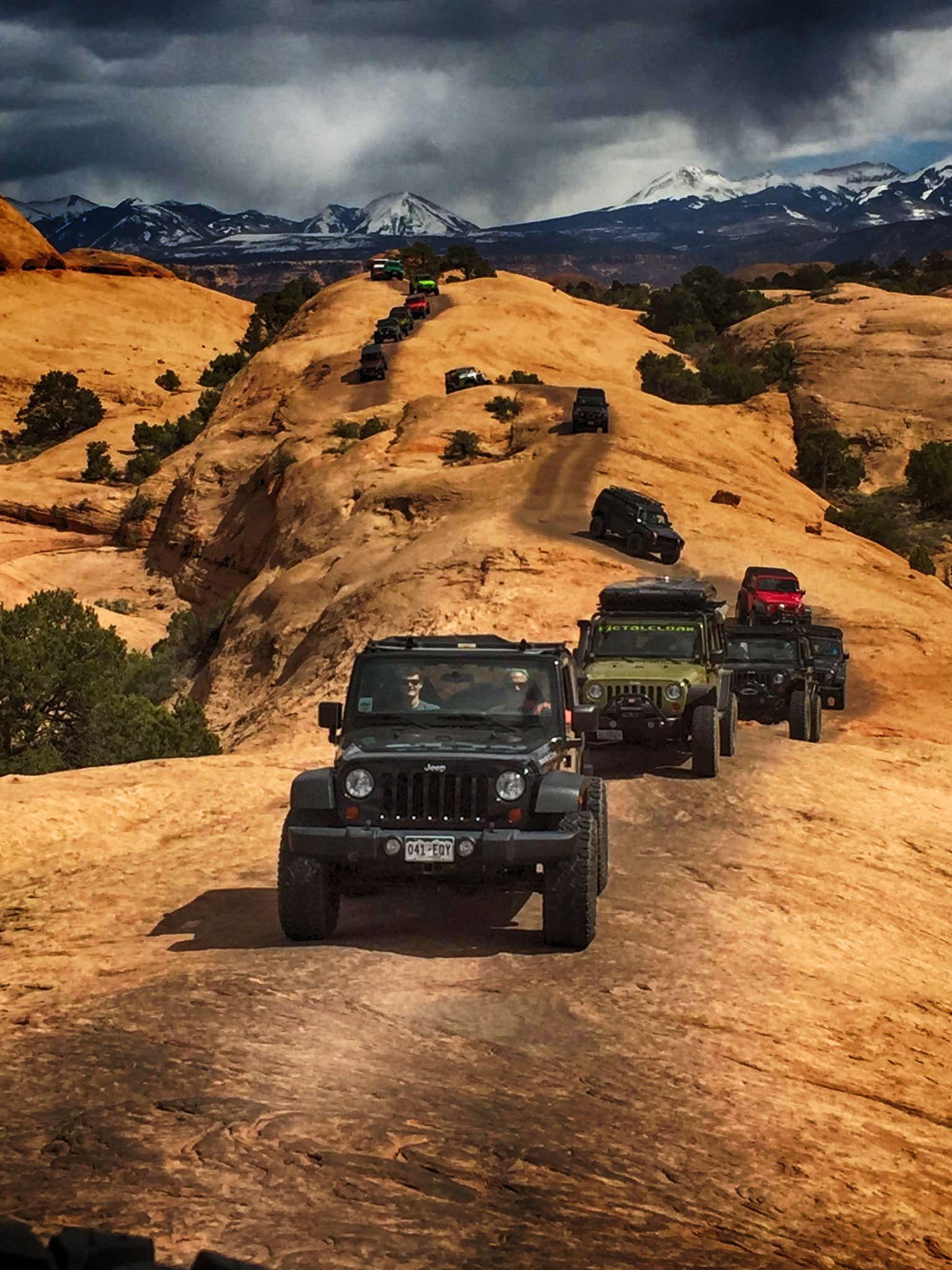 O O Jeep Moab Arabalar