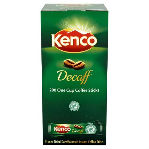Kenco Decaff One Cup Coffee Sticks 200 X 18g 360g Case Of 4