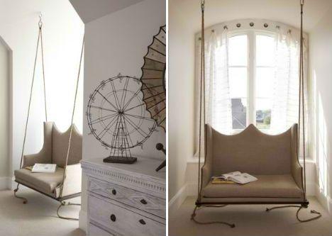 indoor swing furniture. Image Detail For -Swinging Times: 13 Stylish \u0026 Fun Indoor Swings Swing Furniture P