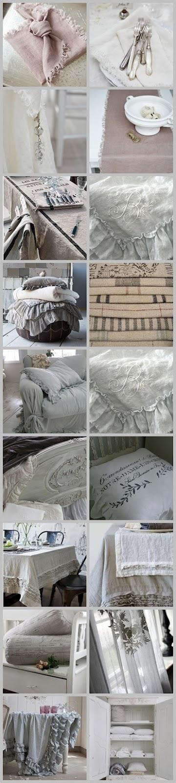linen collection vintage pinterest leinen wandfarbe und franz sischer landhausstil. Black Bedroom Furniture Sets. Home Design Ideas