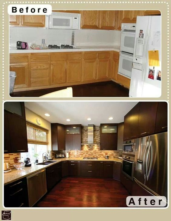 Pin by Ana Rangel on Kitchen (With images) | Refacing ...