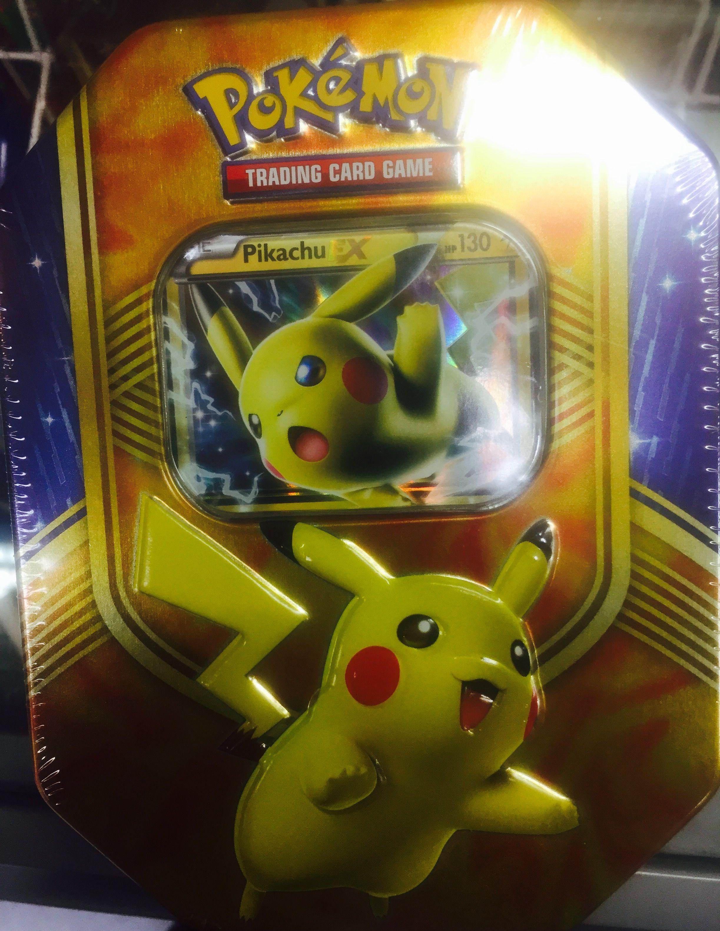 Pokemon tin set fall 2016 Pokemon tins, Trading cards