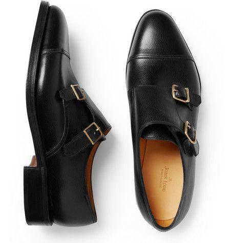 Mens William Leather Double-Monk-Strap Shoes John Lobb 8ZSSN9K3km