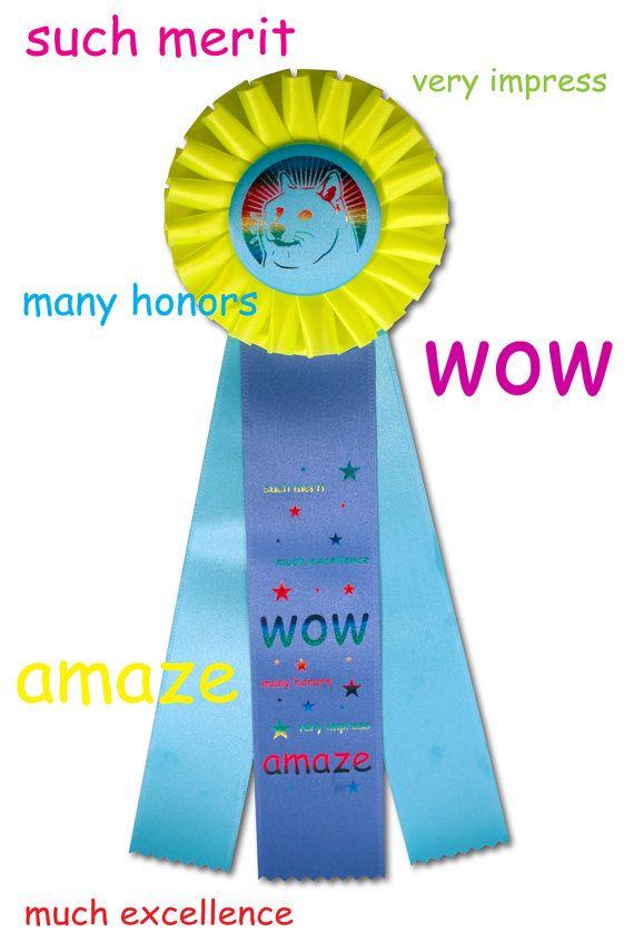 59fd2f8fb3a7acd91a16f2b2b9201f4b doge meme award ribbon dog shirt lol pinterest doge meme