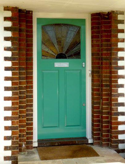 Colourful Twenties front door by the London Door Company ...