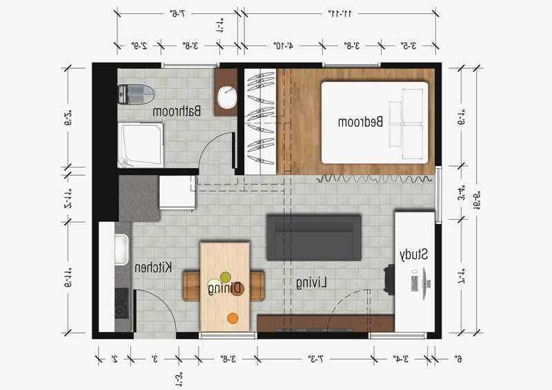 Simple 300 Sq Ft Studio Apartment Layout Ideas Studio Apartment Layout Studio Apartment Apartment Layout