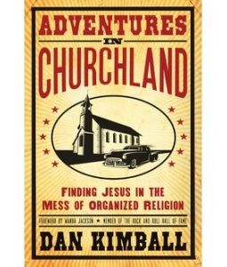 Dan Kimballs new book releases in early September.  I received an early copy and have read every word of it.  I liked it a lot, but get a copy (ask me and I'll loan mine to you) and judge for yourself.