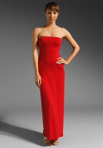 a0242e02d1f44 SUSANA MONACO Helena Strapless Maxi Dress in Chili Pepper at Revolve  Clothing