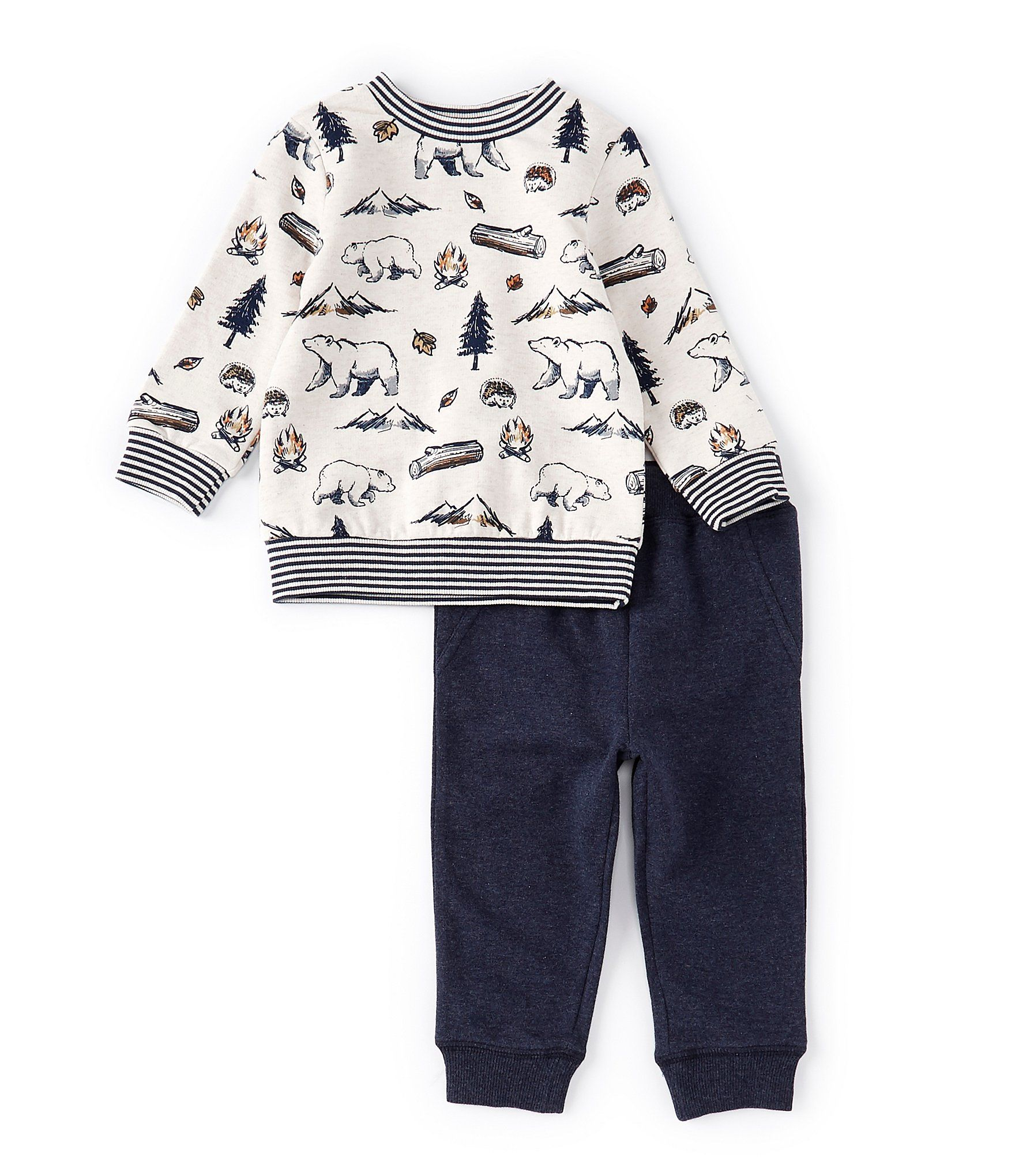 Little Me Baby Boys Pant Set Pants Layette Sets Clothing, Shoes & Jewelry