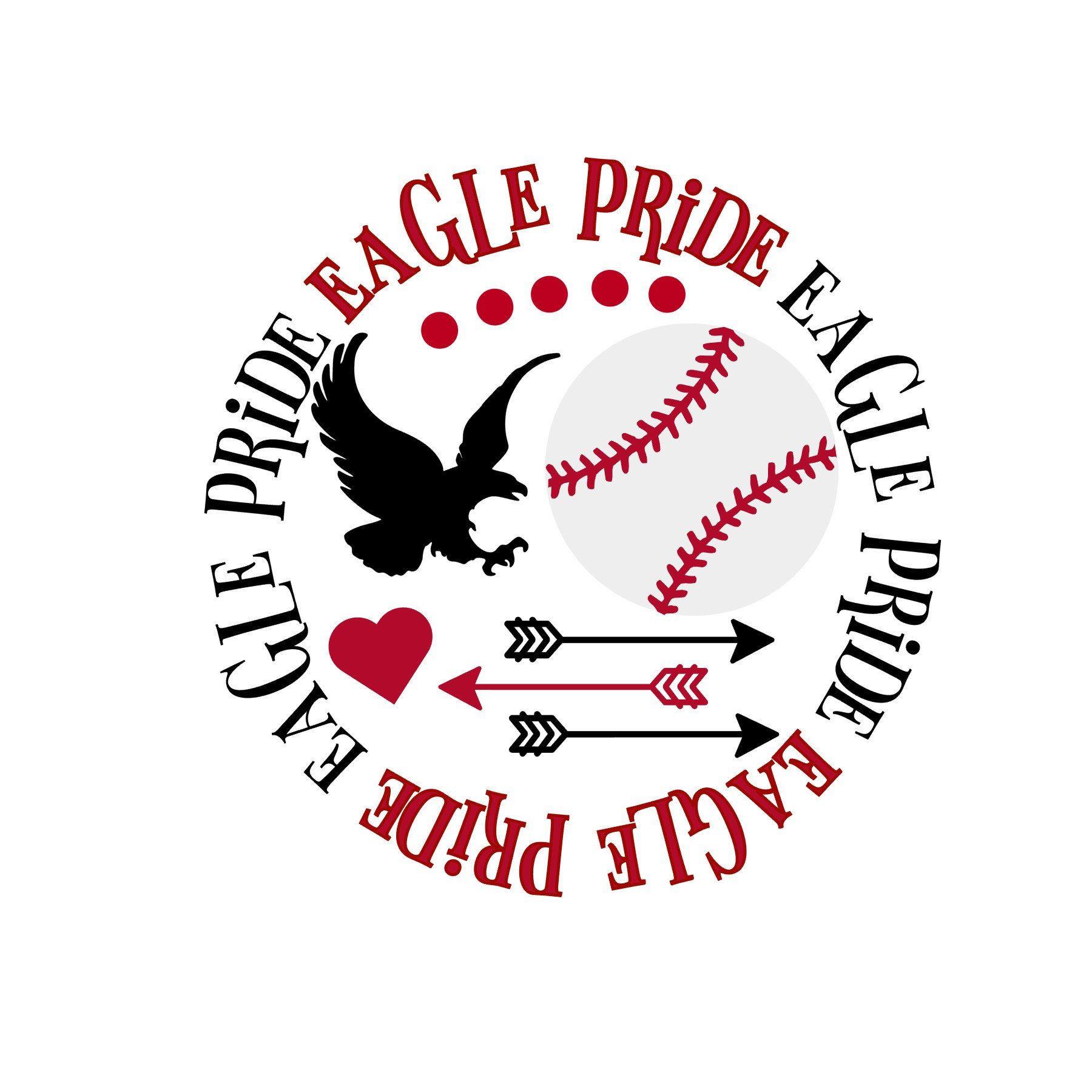 Eagle Pride Baseball SVG (With images) Baseball svg, Svg