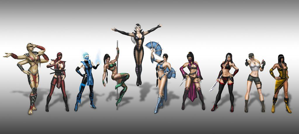 Hot But Deadly Ladies Kitana Model By Sn00p And Blufan