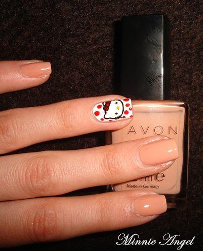 Review - Perfectly Flesh de la Avon +NOTD! | Minnie Angel