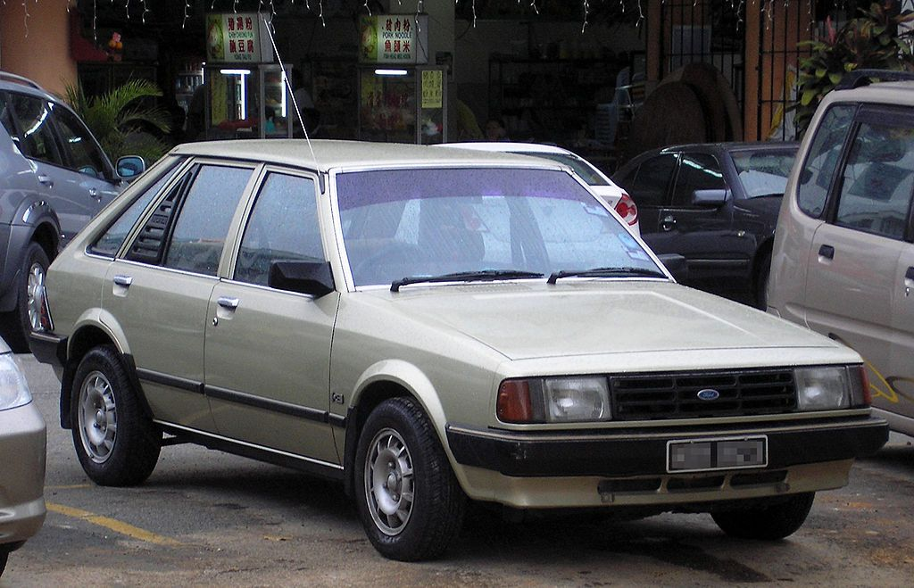 Ford Laser First Generation Front Serdang Ford Laser