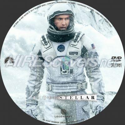 CD van de DVD Interstellar