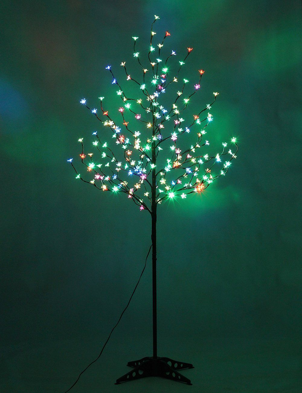 Lightshare New 6ft 208 Led Cherry Blossom Tree Light Slow Color Changing Light Or Home Garden Decoratio Blossom Trees Color Changing Lights Cherry Blossom Tree