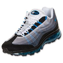 Mens Nike Air Max 95 Dynamic Flywire Running Shoes  FinishLinecom   Black