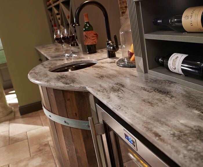 Hazelnut Dupont Corian Sup Sup Outdoor Kitchen Countertops