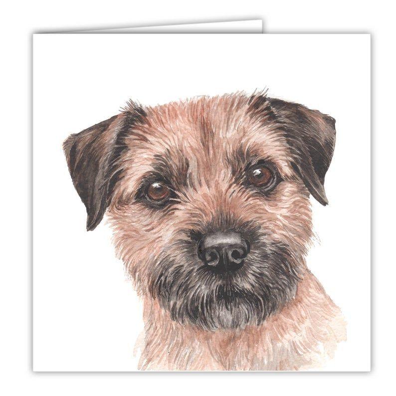 Dog Cards Border Terrier Dog Dog Cards Birthday Dog Cards Etsy Border Terrier Terrier Dog Cards