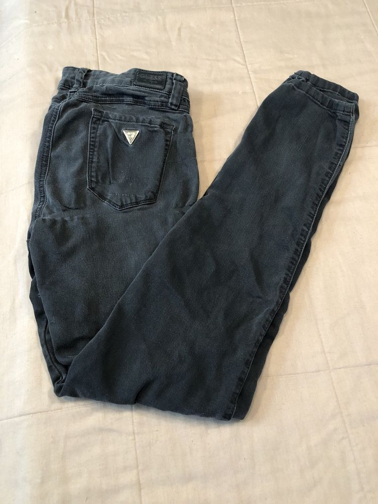 Women s GUESS Los Angeles BRITTNEY SKINNY Black JEANS - Size 26 X RG  GUESS   Skinny acd6299310
