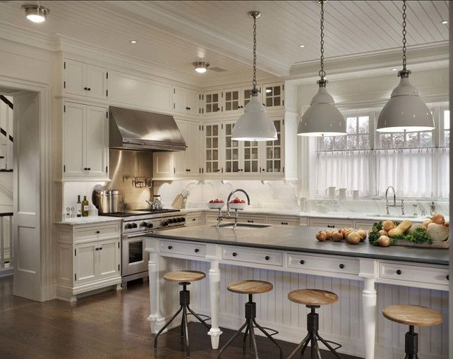 Hamptons Kitchen Design. A Classic Hamptons House on Further Lane Farm  house