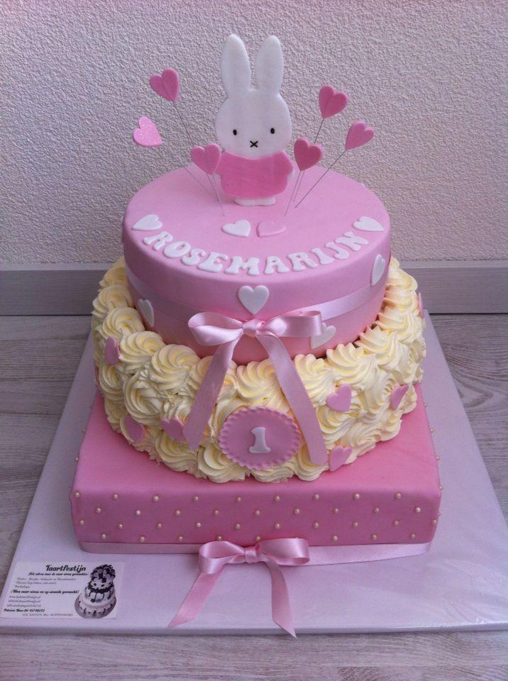Lieve Nijntje taart voor Rosemarijn