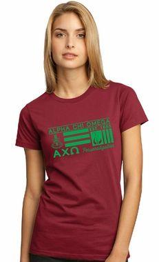 Alpha Chi Omega Symbolized Tee