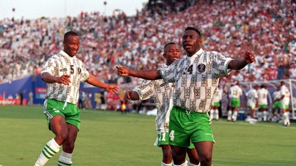 Nigeria World Cup 1994 Daniel Amokachi Fifa, World cup