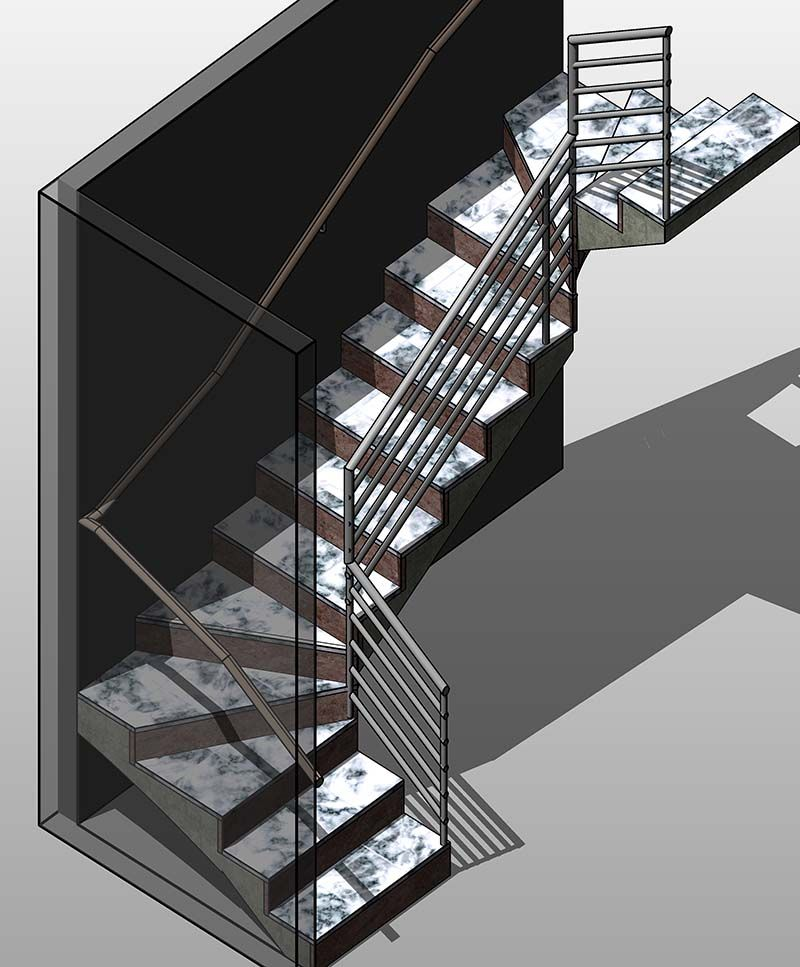 Best Revit Family Of Stair Case View More Families At Http 640 x 480