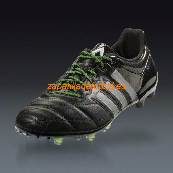 info for 76ccd 69cf2 ... spain barato zapatos de soccer adidas ace 15.1 fg ag negro metalico de  plata amarillo solar