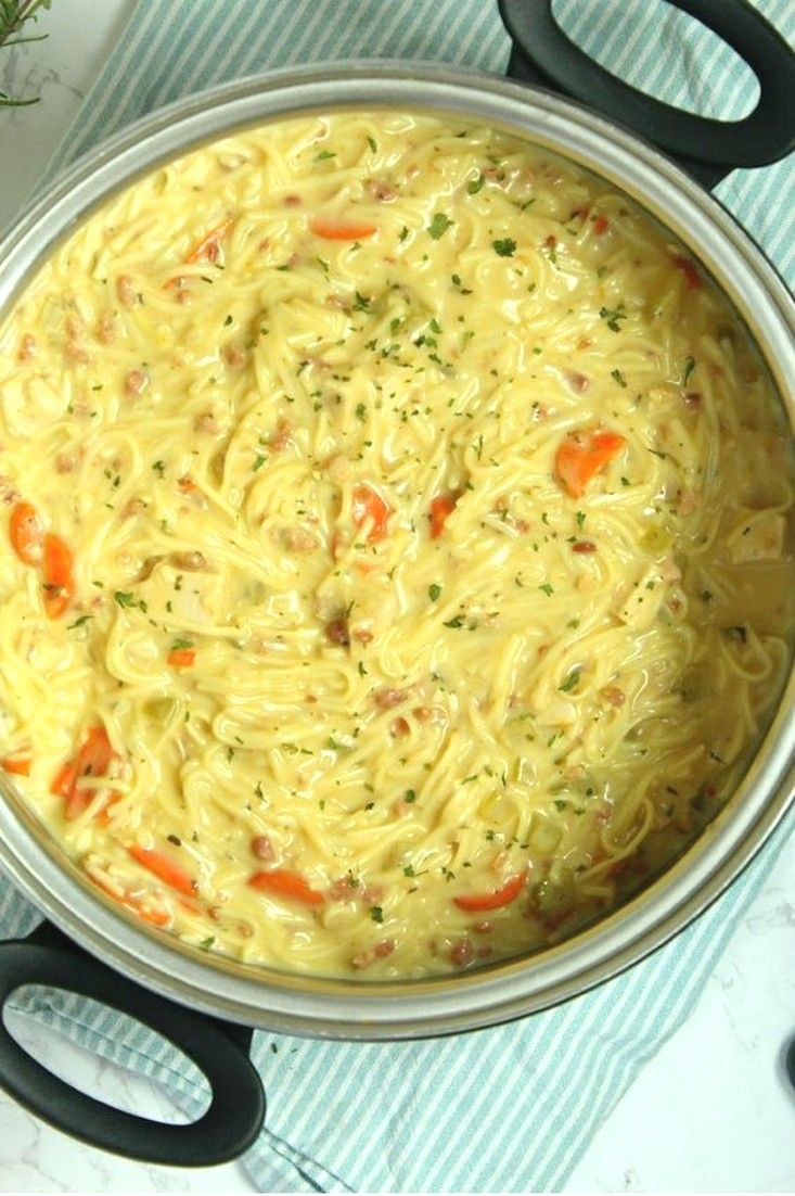 Soup Recipes Ideas | Crack Chicken Noodle Soup images