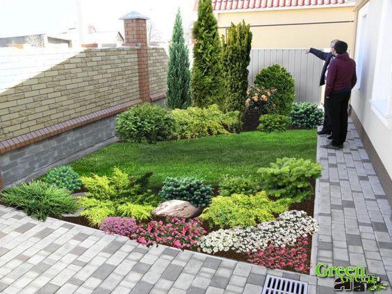 Pin By Ekinoks B On Maria Heglasova Backyard Landscaping Small Yard Landscaping Lawn And Landscape