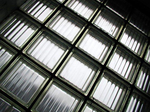 How To Repair A Glass Block Window Glass Block Installation Glass Block Windows Glass Blocks