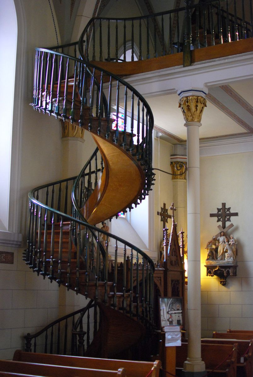Best The Spiral Staircase At Loretto Chapel Spiral Staircase 400 x 300