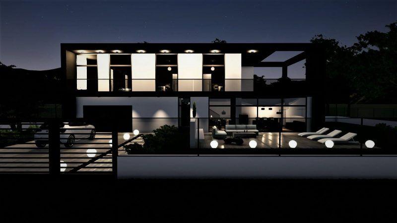Il Progetto Di Una Casa Unifamiliare A Due Piani
