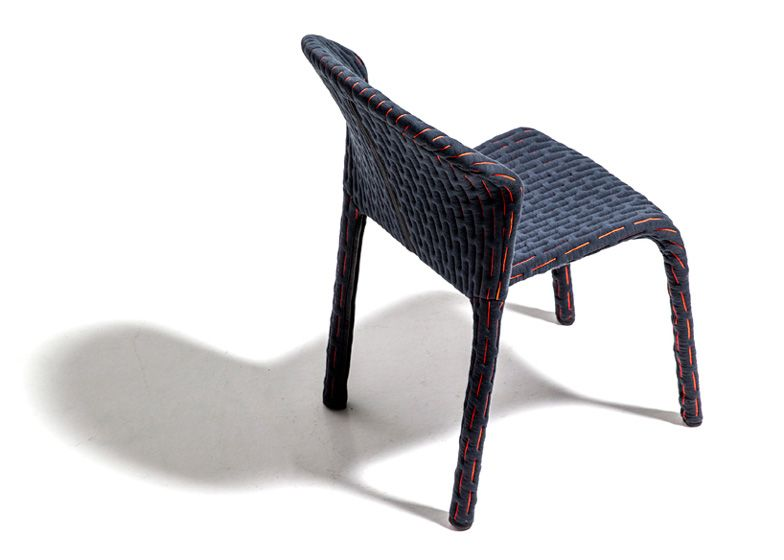 benjamin hubert dresses up chairs in talma collection for moroso, Möbel