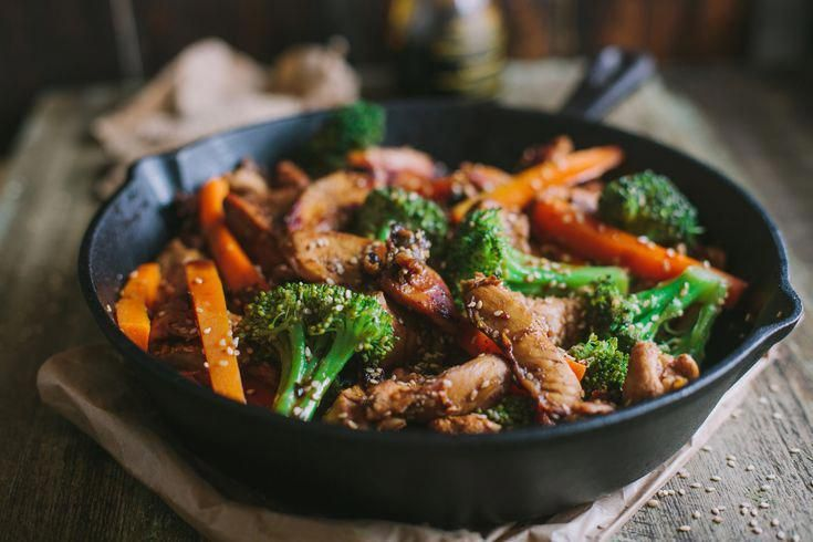 Chicken and Broccoli Stir Fry is an easy and healthy meal perfect for busy weekn Chicken and Broccoli Stir Fry is an easy and healthy meal perfect for busy weeknights Tr...