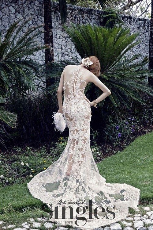 Hye rim park wedding dresses