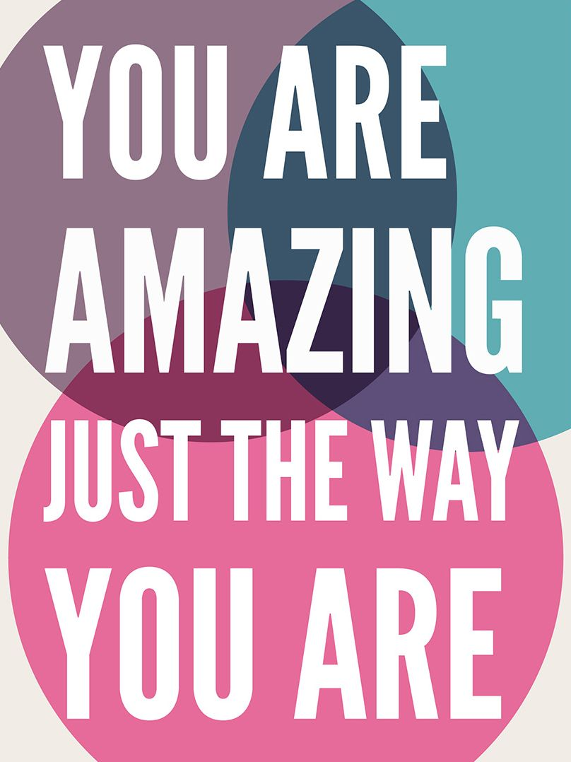 You Are Amazing Print Zulily You Are Amazing Inspirational Words Cool Words